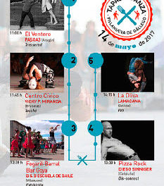 VILLANUEVA DE GÁLLEGO. Tapas y danza (domingo, 14)