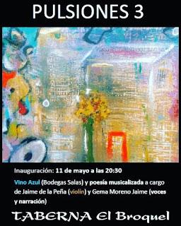 Inauguración exposición en EL BROQUEL (jueves, 11)