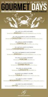 Gourmets Days en LOS CABEZUDOS y TRAGANTÚA con ostra (del 15 al 18)