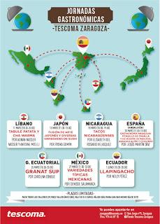 Talleres Jornadas gastronómicas mundiales (del 11 de mayo al 1 de junio)