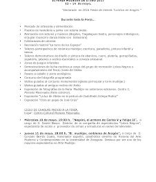 UTEBO. VI Feria Mudéjar (del 12 al 14)