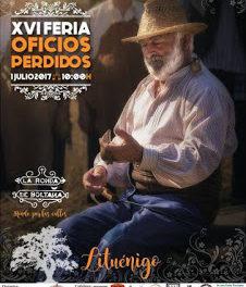 LITUÉNIGO. XVI Feria de los oficios perdidos (domingo, 1)