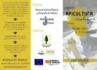 VALBONA Curso de apicultura ecológica (del 16 al 18)