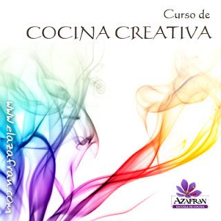 Curso de cocina creativa de verano en AZAFRÁN (de martes a jueves, del 13 al 15)