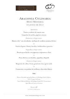 II Aragonia Culinaria con el Gastroespacio del Hotel AH, Jaca (jueves, 29)