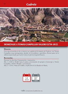 CADRETE. 1ª Recreación napoleónica de Cadrete (sábado, 1, y domingo, 2)