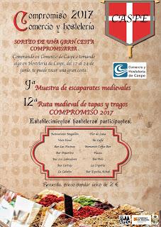 CASPE: Conmemoración del Compromiso de Caspe, año 1412 (del 23 al 25)