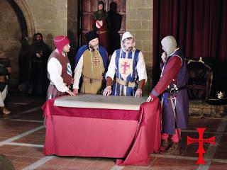 """EJEA DE LOS CABALLEROS. Recreación """"Entronización de Alfonso I como Imperator Rex"""" (24 y 25)"""