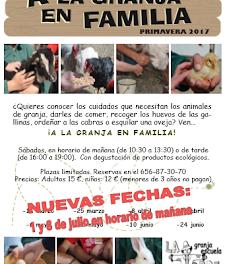 A la granja en familia (sábados 1 y 8)