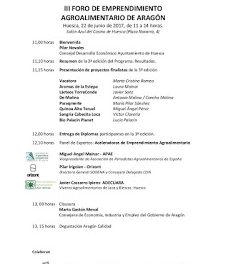 HUESCA. III Foro de emprendimiento de Aragón (jueves, 22)