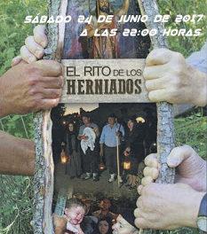 LOBERA DE ONSELLA. Recreación del Rito del Herniado (sábado, 24)