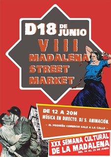 VIII Madalena Street Market (domingo, 18)
