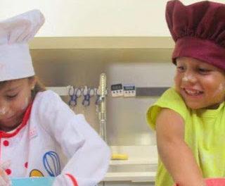 Curso de cocina para minichefs en LA ZAROLA (del 3 al 7)