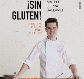 """Presentación del libro """"¡Sin gluten! Deliciosas recetas para celíacos"""" (miércoles, 21)"""