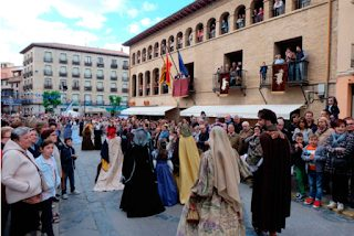 TARAZONA. Recreación histórica de la coronación de Carlos V (del 16 al 18)