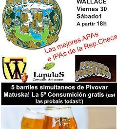 Fiesta Matuska (viernes, 30, y sábado, 1)