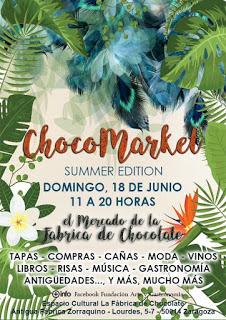 III Chocomarket, Mercado de la Fábrica de Chocolate (domingo, 18)