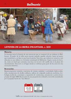 BULBUENTE. Recreación histórica de la leyenda de la Mora Encantada (del 21 al 23)