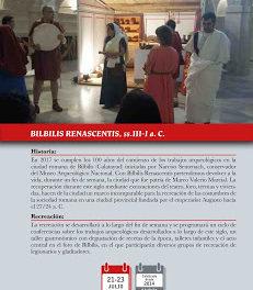 CALATAYUD. Recreación histórica Bilbilis Renascentis (del 21 al 23)