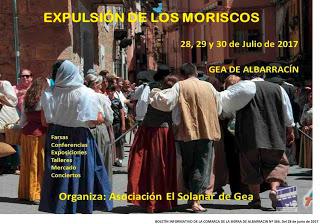 GEA DE ALBARRACÍN. Recreación histórica de la expulsión de los moriscos (del 28 al 30)