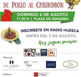 HUESCA. VIII Concurso de pollo al chilindrón (hasta el 2 de agosto)