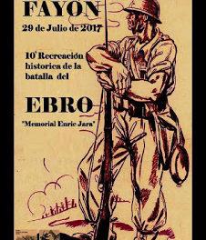 FAYÓN. Recreación de la Batalla del Ebro (sábado, 29)