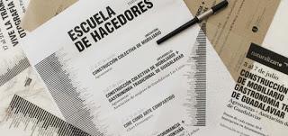 GUADALAVIAR. Taller de Construcción colectiva de mobiliario + Gastronomía tradicional de Guadalaviar (del 17 al 21 de julio)