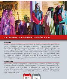 TORRALBA DE RIBOTA. Recreación histórica de la leyenda de la Virgen de Cigüela (18 y 19)