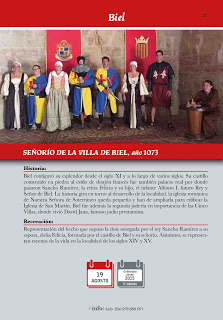 BIEL. Recreación del Señorío de la Villa de Biel (sábado, 19)