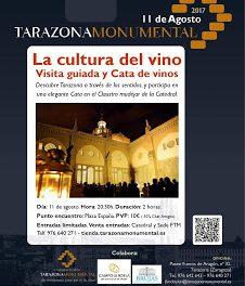 TARAZONA. Visita guiada y cata de vino (viernes, 11)
