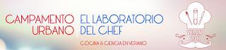 """Campamento infantil """"El Laboratorio del Chef"""" en el Joaquín Roncal (del 28 al 1)"""