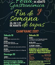 CANFRANC. Feria Gastronómica (19 y 20 de agosto)