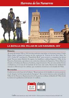 HERRERA DE LOS NAVARROS. Recreación de la batalla del año 1837 (del 25 al 27)