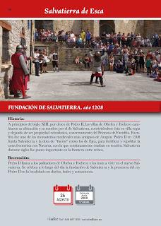SALVATIERRA DE ESCA. Recreación histórica (sábado, 26)
