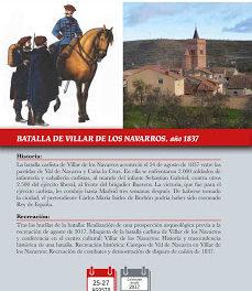 VILLAR DE LOS NAVARROS. Recreación de la batalla del año 1837 (del 25 al 27)