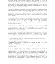 Concluye el plazo para elegir el cartel del Concurso de tapas de Zaragoza  (hasta el 22 de septiembre)