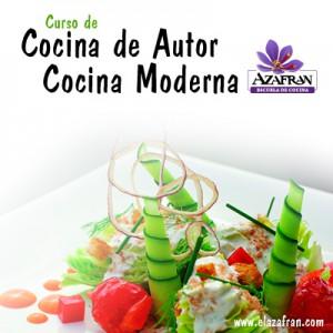 Curso de cocina de autor en AZAFRÁN (de martes a jueves, del 26 al 28)