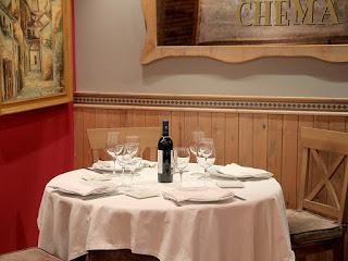 Menú degustación Noches de Baco en LA BODEGA DE CHEMA, con El Vino de las Piedras (septiembre)