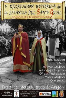 BAILO. V Recreación histórica de la Estancia del Santo Grial (días 16 y 17)