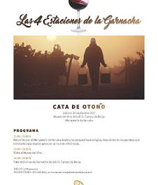 VERUELA. Cata de otoño del Campo de Borja (sábado, 30)