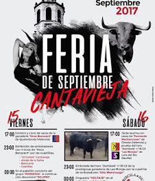 CANTAVIEJA. Feria de septiembre (del 15 al 17)