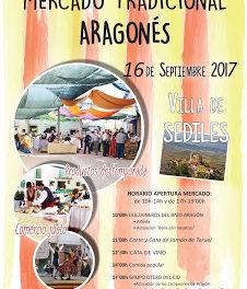 SEDILES. Mercado tradicional aragonés (sábado, 16)