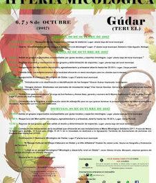 GÚDAR. II Feria micológica (del 6 al 8)