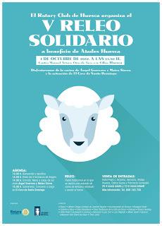 HUESCA. V Releo Solidario (domingo, 1)