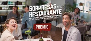 Sorpresas en el restaurante, con la DOP Cariñena (del 8 al 10 y del 15 al 17)