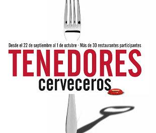 Jornadas gastronómicas Tenedores cerveceros (del 22 de septiembre al 1 de octubre)