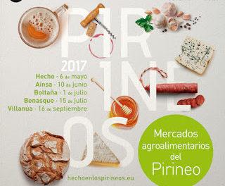VILLANÚA. Mercado agroalimentario de los Pirineos (sábado, 16)