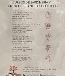 Curso de huertos urbanos ecológicos (jueves de octubre)