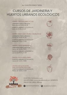Curso de jardinería para curiosos (miércoles de octubre)