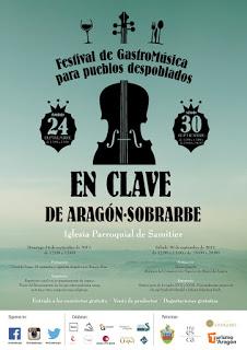 SAMITIER. Festival de Gastromúsica para pueblos despoblados (domingo, 24, y sábado, 30)
